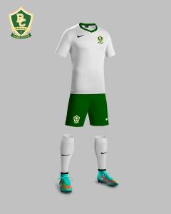 Boca Christian Soccer Logo Kit Mock-up