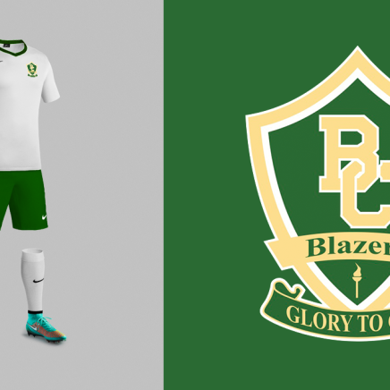 Boca Christian Soccer Logo Design