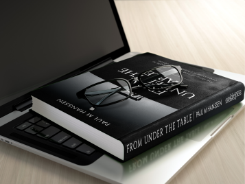From Under The Table Book Cover Mock-up