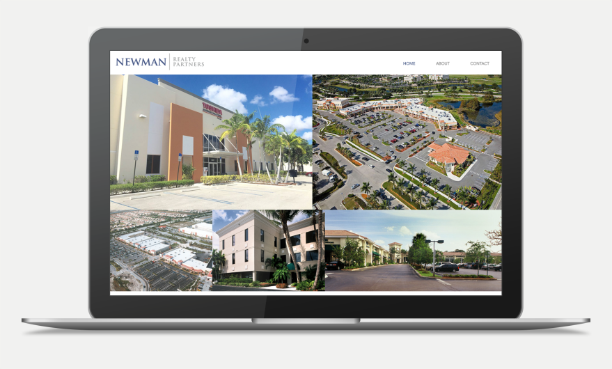 Creative Leif | Newman Realty Website Mockup